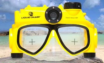 The Only Digital Camera Swim Mask: Field Test