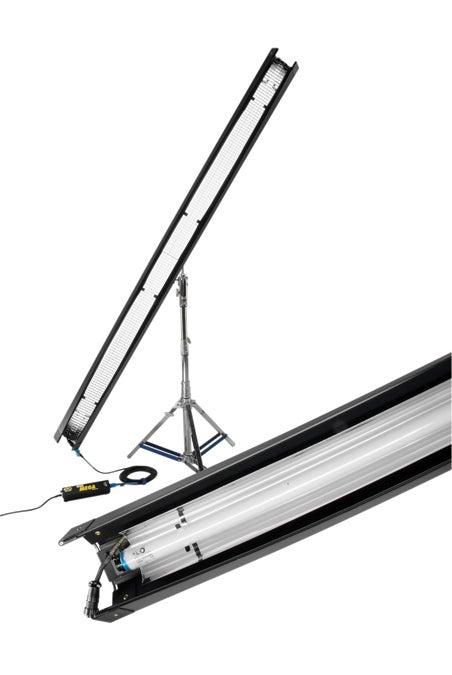 8-foot Kino flo daylight fluorescent fixture