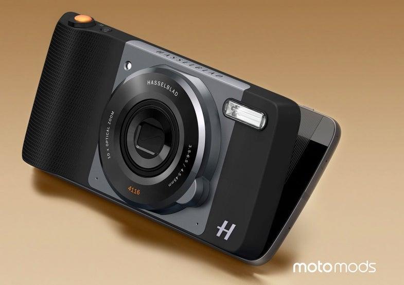 Moto Z Smartphone With Hasselblad True Zoom Camera Module