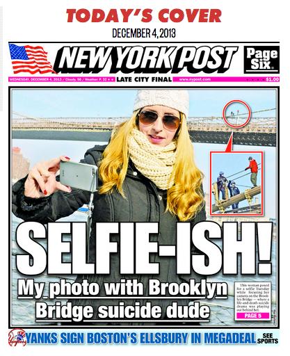 New York Post Selfie Cover