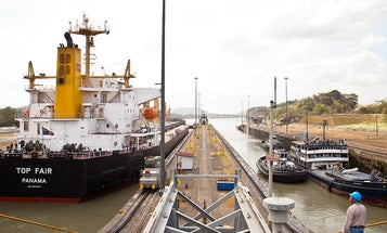 Tom Fowlks on six years of photographing the Panama Canal Expansion