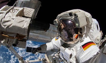 Astronauts Share Incredible Selfies from Spacewalk