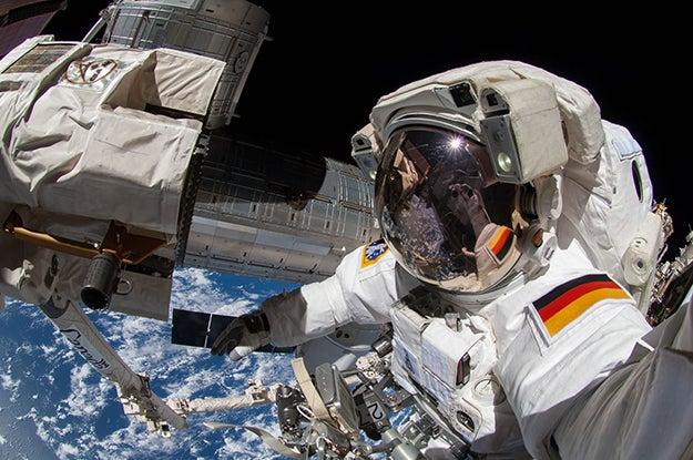 Space selfie 1