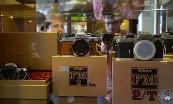 Take a Tour of An Amazing Vintage Nikon Camera Shop in London
