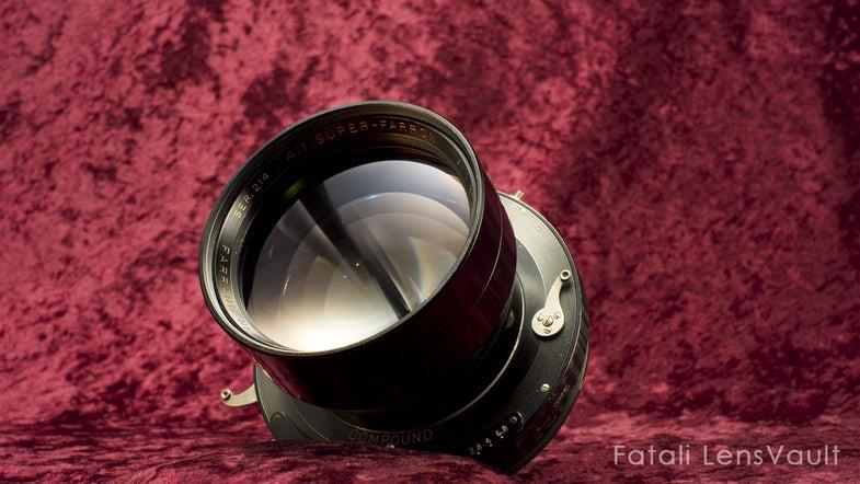 Super Farron 76mm F/0.87 Lens Auction eBay Watch