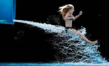 My Project: Krista Long's Photos of High Speed Water Slide Riders