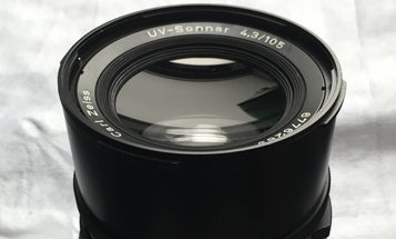 eBay Watch: Zeiss UV-Sonnar 105mm F/4.3 Is a Rare Lens Built for Ultra-Violet Photography
