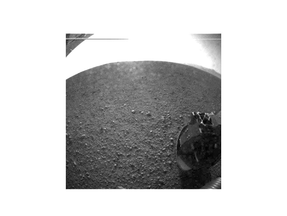 Mars Rover Curiosity Image 1