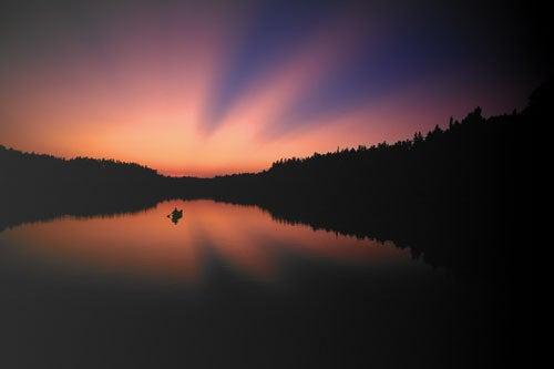 """""""Landscapes-After-Dark-Judd-Lake"""""""