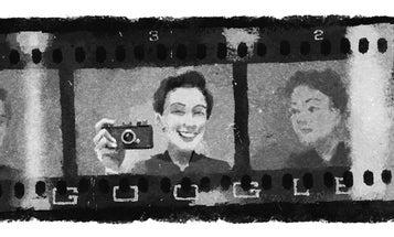 War photographer Gerda Taro is today's Google Doodle