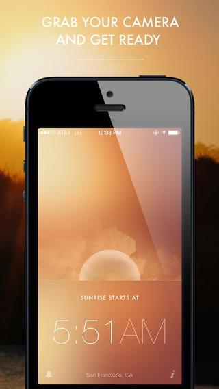 golden hour app