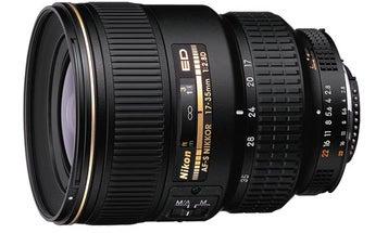 Nikon AF-S Zoom-Nikkor 17–35mm f/2.8D ED-IF