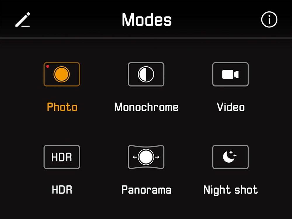 default app settings