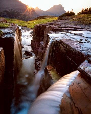 """Lough-came-upon-this-scene-in-Glacier-National-Par"""