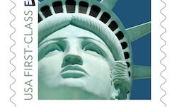 Statue of Liberty Stamp Features a Photo of the Vegas Replica