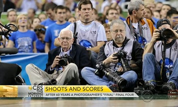 Photographer Rich Clarkson Has Been Shooting March Madness For 60 Years