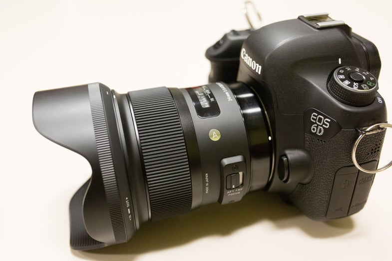 Sigma 24mm Art