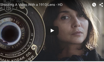 Using a Century-Old Lens to Shoot Video on a Mirrorless Digital Camera