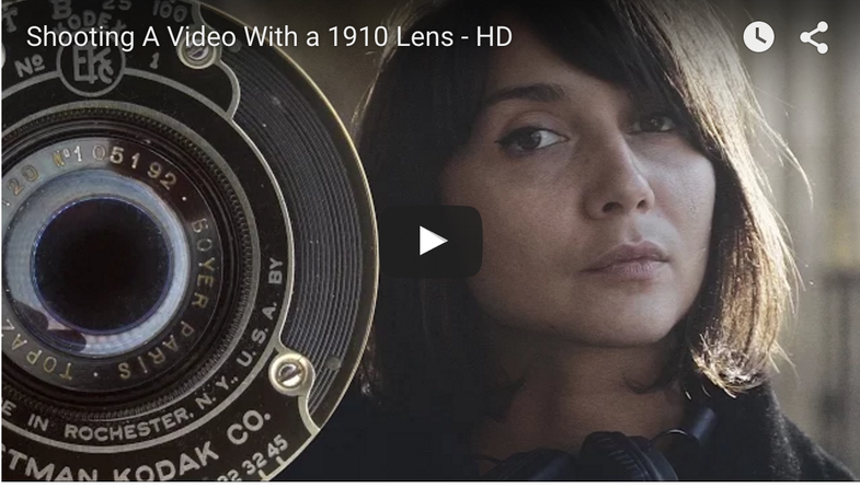 Shooting with a 100-year-old lens on a Sony A7 II