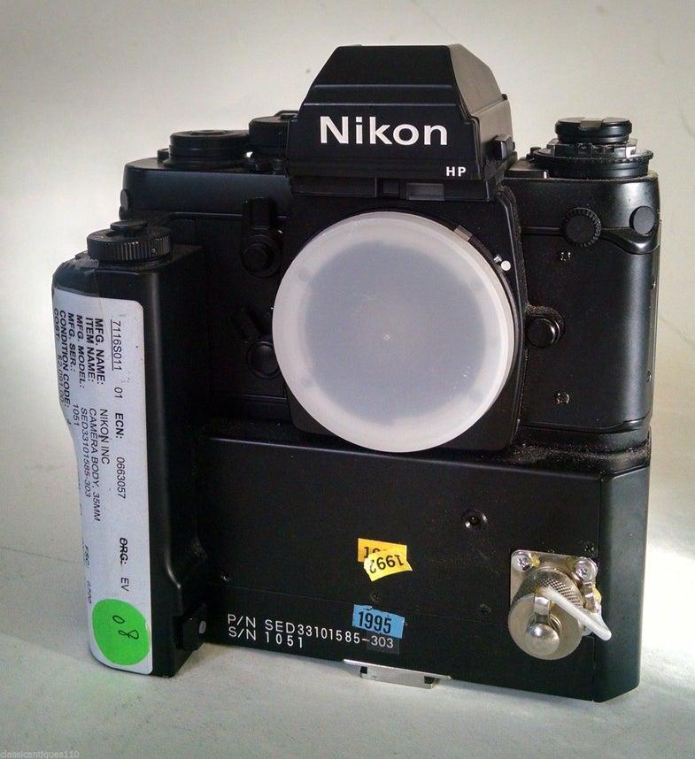 Nikon F3 NASA Edition SLR Film Camera