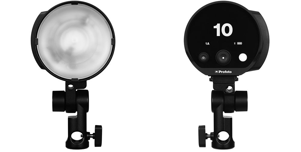 Profoto 250W B10 flash head front and back