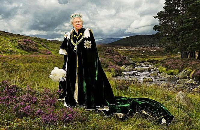 Queen of Scots, Sovereign of The Most Ancient and Most Noble Order of The Thistle