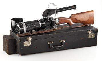This Classic Camera Looks Like A Rifle And Is Worth More Than $200,000