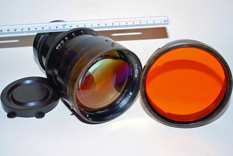 russian aerial lens