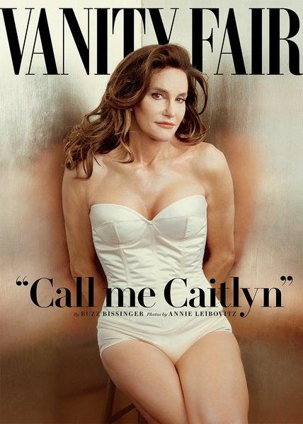 Caitlyn Jenner Vanity Fair Portrait