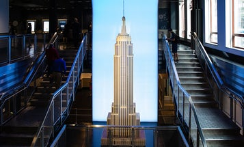 New York City's Empire State Building debuts a brand new entrance and lobby for its world-renowned observatories