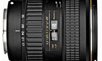 Lens Test: Tokina 17–35mm f/4 AT-X PRO FX