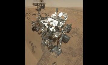The Mars Rover Has Sent Back a Self-Portrait