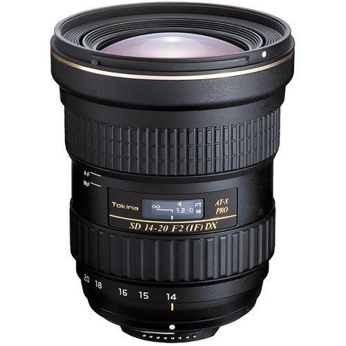 Tokina 14-20mm f/2 zoom lens