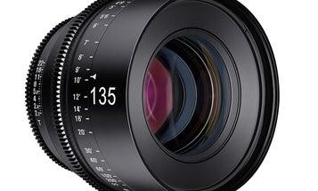 Rokinon Adds 135mm T2.2 Xeen Lens to Cinema Lineup
