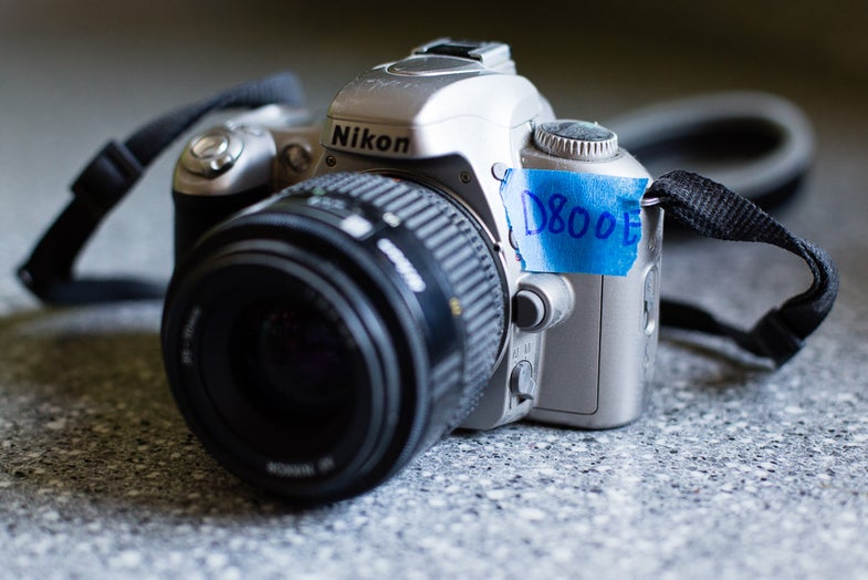Fake Nikon D800E