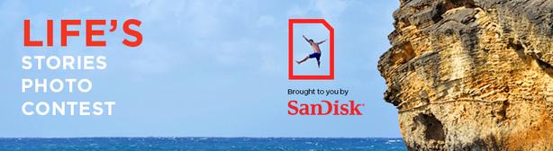 Sandisk Contest Life's Stories