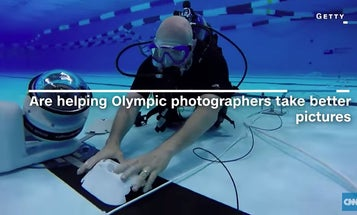 Watch This: A Look at Getty's Underwater Robot Cameras at the Rio Olympics