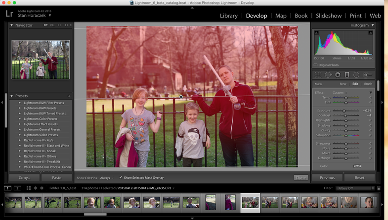 Hands-On: Adobe Photoshop Lightroom CC Moves Faster, Adds Photo Merge and Face Detection