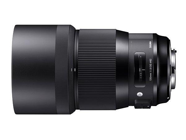 Sigma 135mm f/1.8 Art