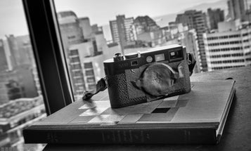 Gregory Simpson Makes His Own Leica M9 Pinhole Lenses Out Of Gaffer's Tape
