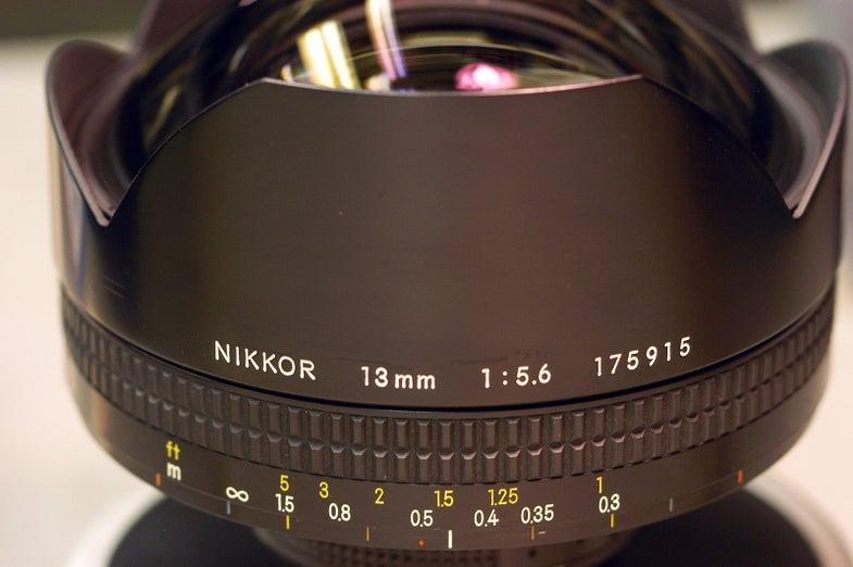 Nikon 13mm F/5.6 Lens Ebay