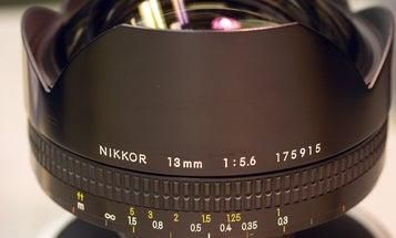 Ebay Watch: Nikon 13mm F/5.6 Super-Wide Angle Lens