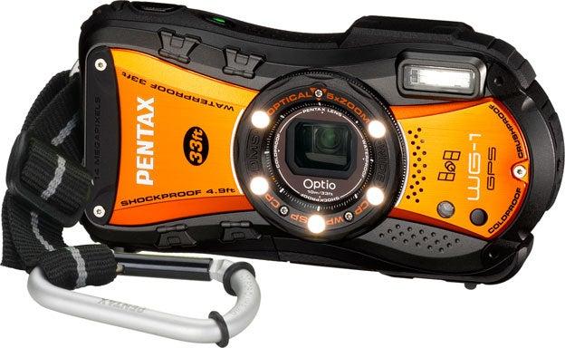 Orange Pentax WG-1 GPS
