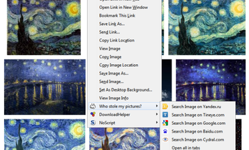 """""""Who Stole My Pictures"""" Firefox Plugin Helps You Track Down Illicit Image Use"""