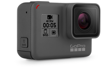 GoPro Hero5 Black Action Camera Has A 2-Inch Touch Display And Voice Command
