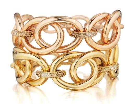 18-karat gold Faraone Mennella bracelets