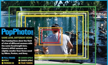 Why Sensor Size Changes the Angle of View