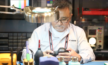 Video: The Life of a Canon Professional Services Camera Technician