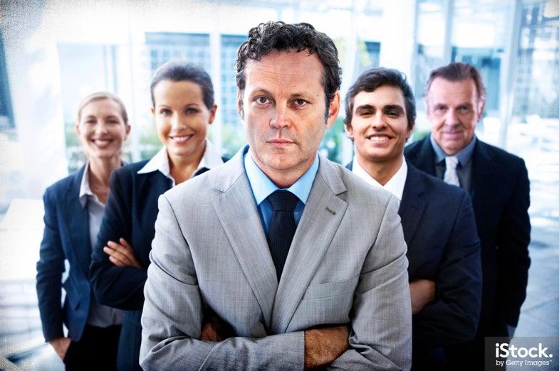 Vince Vaughn Parody Business Stock Photos