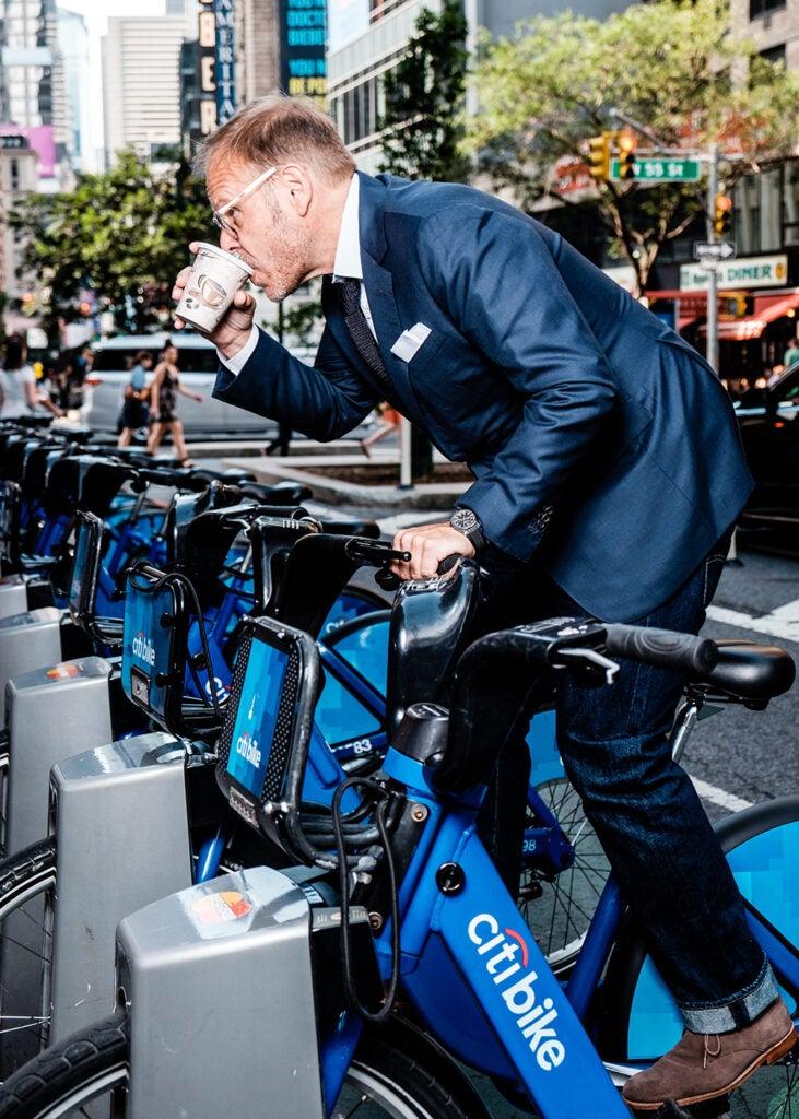 Alton Brown on Citi bike